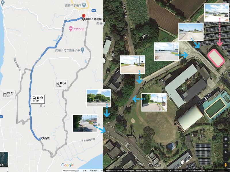 多目的交流住宅施設周辺地図